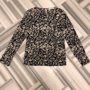Derek Lam Print Silk Shirt